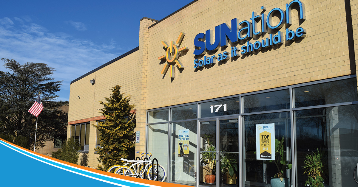 SUNation building in Ronkonkoma, NY